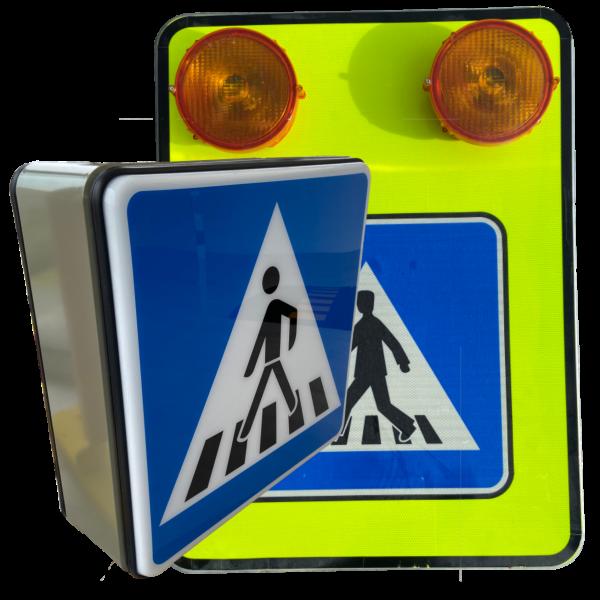 Svetelné dopravné značky